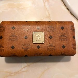 MCM sunglass case with cloth NWOT